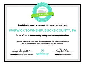 SafestCitiesInAmerica-Certificate-2017